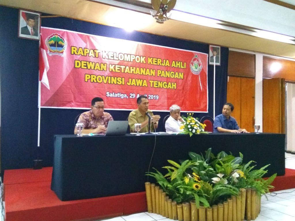 Rapat Pokja Ahli Dewan Ketahanan Pangan Provinsi Jawa Tengah