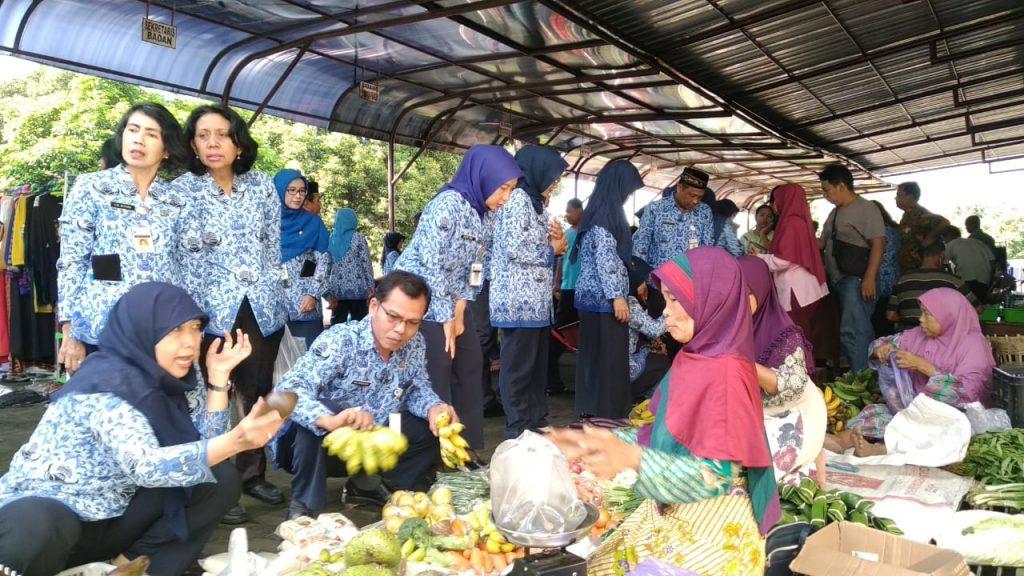 Kegiatan Pasar Tani Dishanpan 17 Mei 2019 Dishanpan Prov Jateng