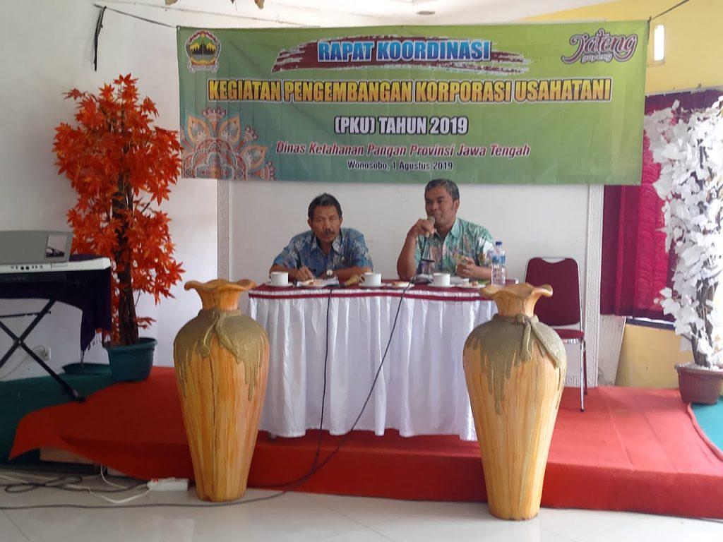 Rapat Koordinasi Pengembangan Korporasi Usahatani